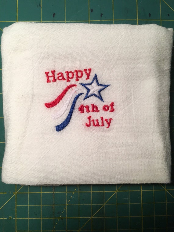 4th of July Tea Towel
