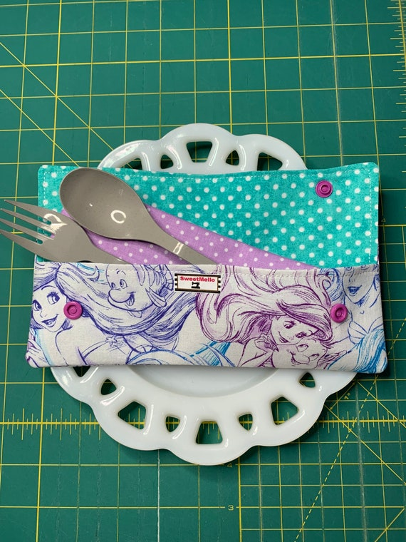 Little Mermaid Cutlery Case