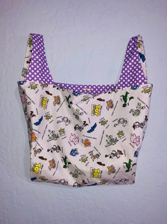 Reversible Toy Story Market Bag