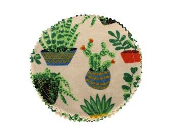 Reusable Cotton Rounds Succulent