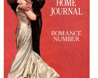c5b8c7ff67e Vintage Ladies Home Journal Cover Poster