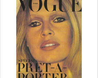 Vintage Etsy Vogue Poster It Vogue Poster qfx8wtO1