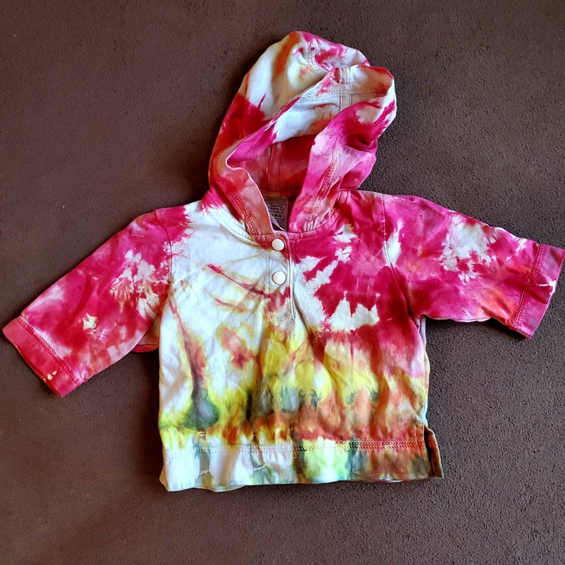 12 month Baby Tie Dye