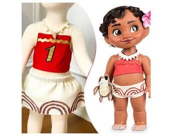 Baby Moana costume Baby Moana outfit baby Moana 1st birthday baby Moana dress up as Moana infant Moana