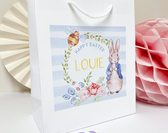 Personalised Easter Activity Bag | PETER RABBIT | Childrens Easter Treat Bag Easter Egg Hunt Birthday Party