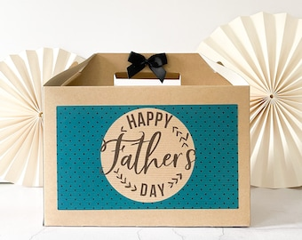 Personalised Gift Box  | FATHER'S DAY | Kraft present for Dad Daddy Retro