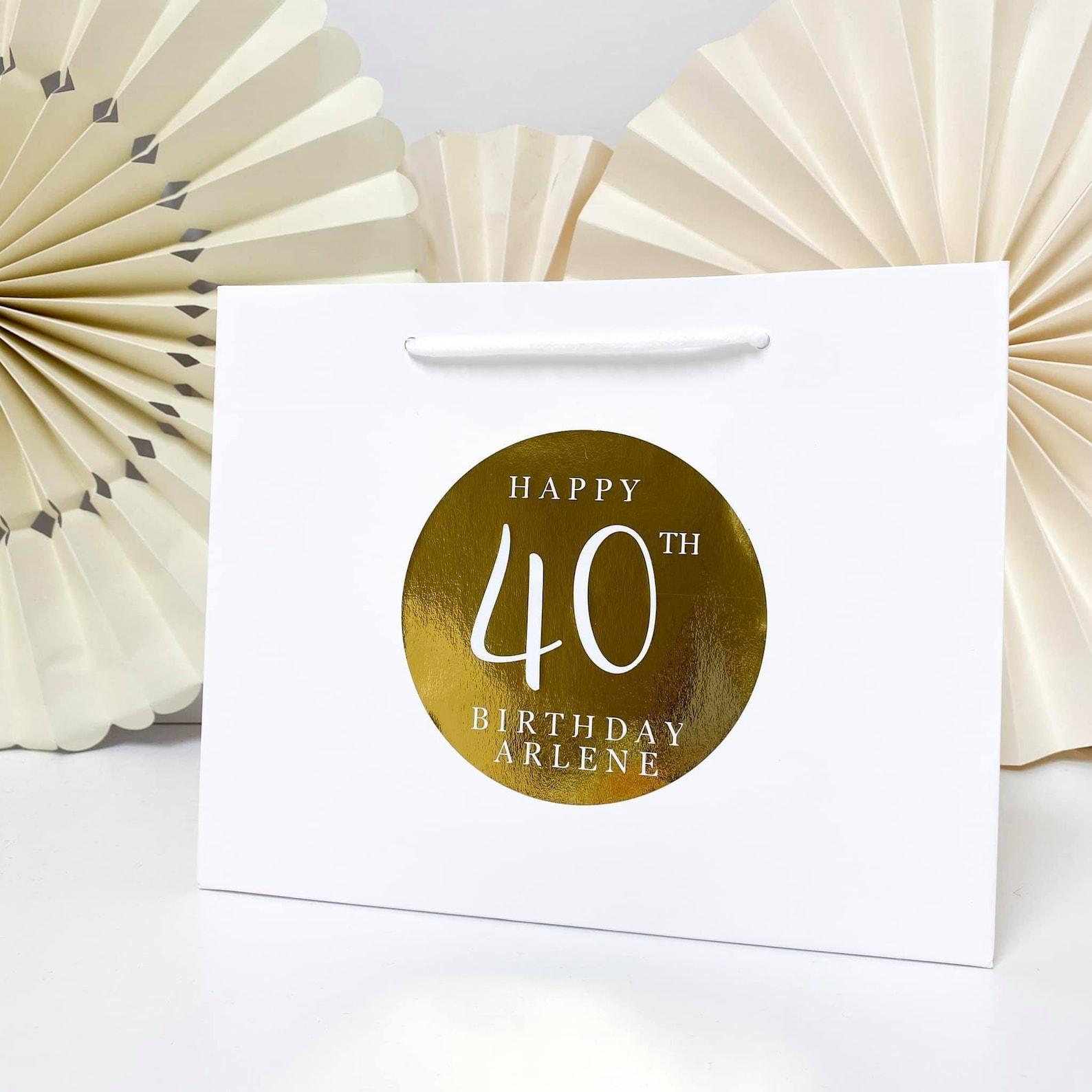Luxury foil gift bag