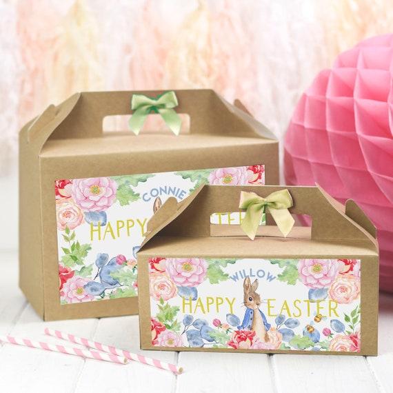 PERSONALISED EASTER GIFT BOX ACTIVITYPETER RABBITEASTER EGG HUNT TREAT