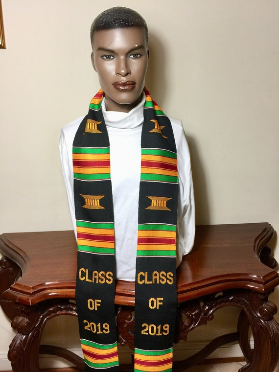 Fraternity Kente Stole Class Of 2020 Custom Phi Beta Sigma Graduation stole