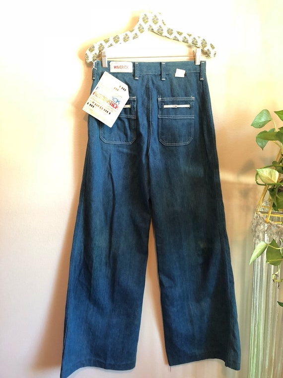 1970s DEADSTOCK Maverick High Waisted Bells