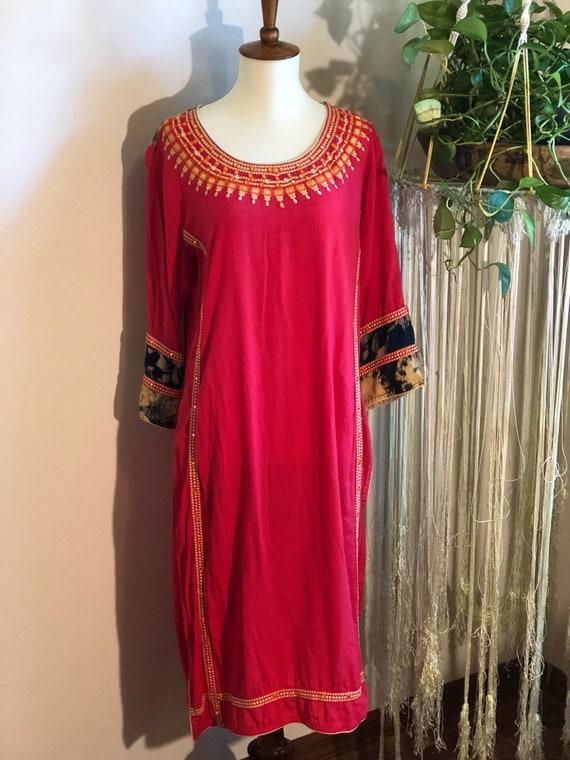 Vintage Indian Cotton Tunic