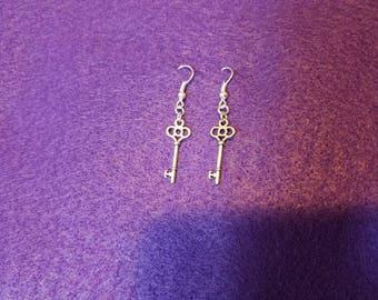 Keys to Adventure earrings