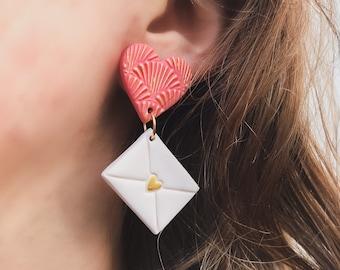 Love Note Dangle Earrings