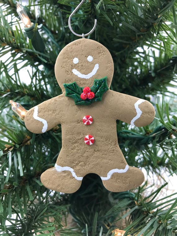 40+ Awesome Polymer Clay Christmas Ornaments