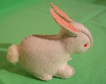 Cloth bunny, cloth rabbit, felt animals