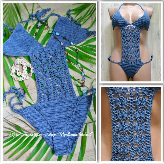 Crochet Pattern Crochet Bikini Pattern Crochet Swimsuit Etsy
