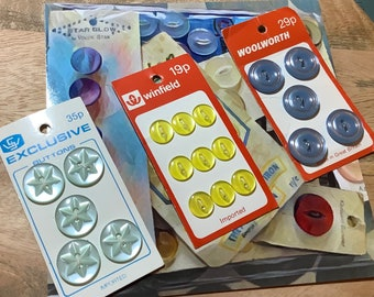 Retro Button Selection - including Woolworths. Price reflects inflation!