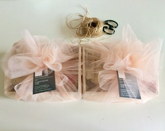 Gift set natural soaps Baptism- Communion in drawer or basket - Mixed craft soap sets and bathroom accessories. customizable