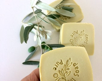 Natural antibacterial soap - Soap 100% extra virgin olive oil, cold saponification with the addition of natural antibacterials.