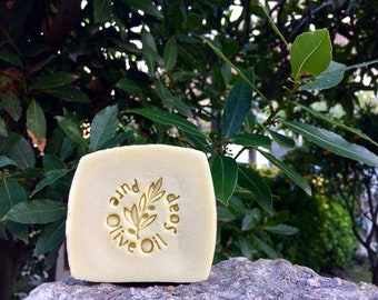 The soap of the past! Soap 100% extra virgin olive oil, natural, cold saponification, no fragrance added.