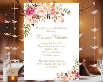 f1353241d4a Bridal Shower Invitation Template