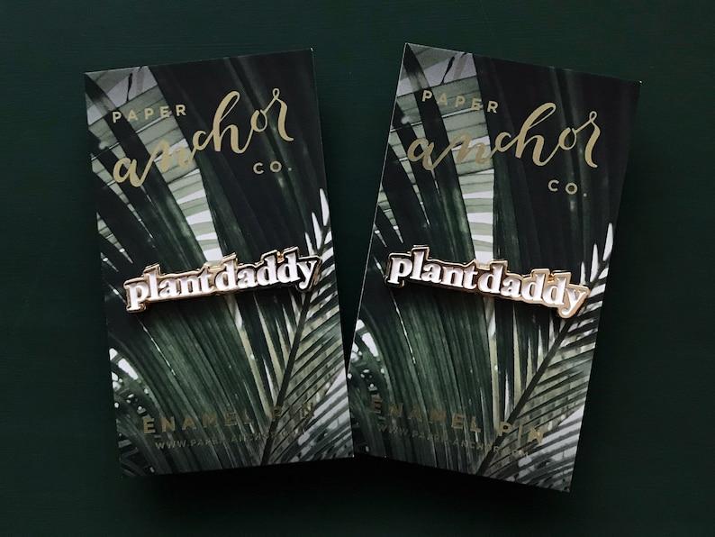 57f586cb Plant Daddy Enamel Pin Enamel Pins & Accessories for Plant | Etsy