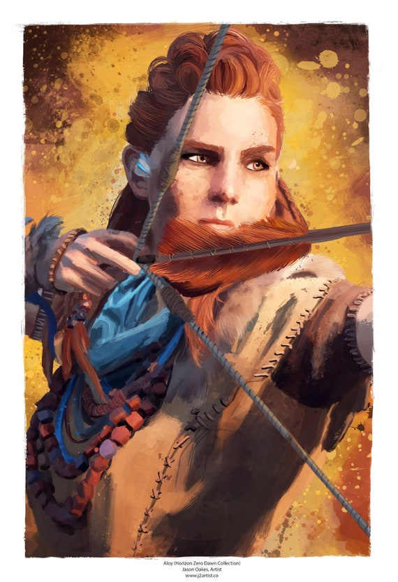 The Best Aloy Art  JPG