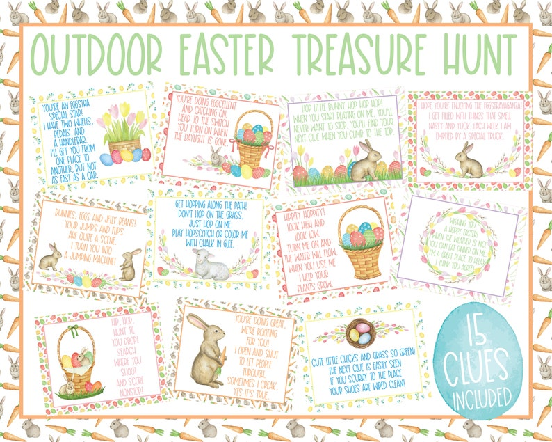 Outdoor Easter Egg Hunt