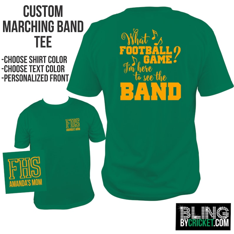 Band Shirt Marching Band Tee Funny Band T Shirt Band Mom Etsy