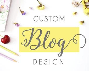 Diseño blog personalizado, customización wordpress, diseño web, custom wordpress