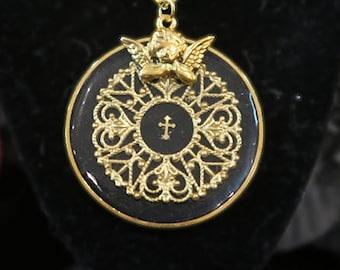 Angelic Magic Circle Necklace