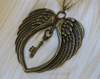 Angel's Key Pendant
