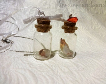 Tooth in a Bottle Pendant
