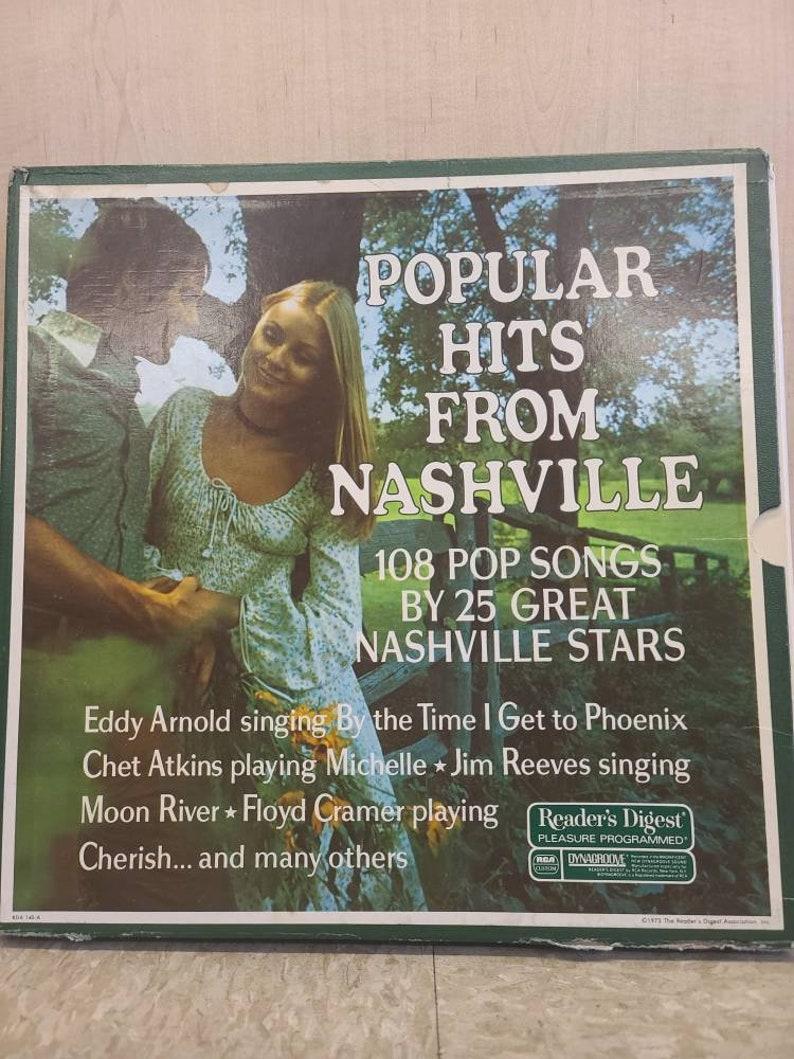 Mid Century Popular Reader/'s Dijest Musical Hit frim Nashville with 108 pop songs with 25 grestest stars