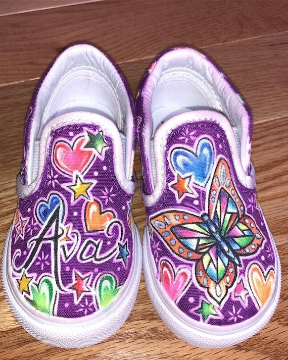 Custom kids shoes | Etsy