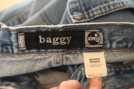 Vintage Levis Silvertab Baggy Jeans 38 x 30 Denim