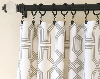 Drapery, Panels, Curtains, Green, Blue, Blush, Pink, Gray, Grey, Living, Bed, Dining, Nursery, Den, Cottage, Room, Custom, Window, Lining