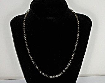 "18"" Antique Bronze jewelry chain 18 inch antique bronze necklace Jewelry supply supplies"
