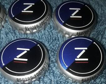 8 ZIMA malt beverage BEER bottle caps CROWN tops for Crafts