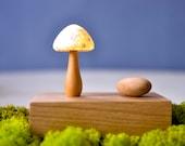 The Mushroom   night light  wooden  handmade