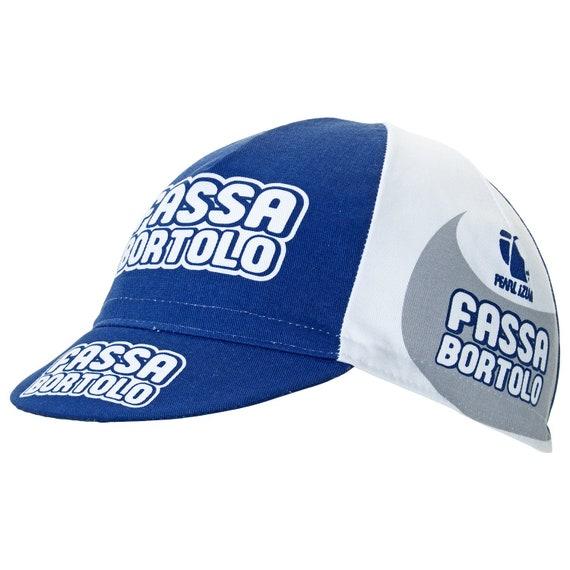 Brand new Fassa Bortolo Cycling cap Italian made Retro fixie