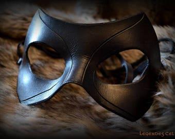"""Black Canary"" leather mask"