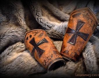 "Forearm wristbands ""The last crusade"""