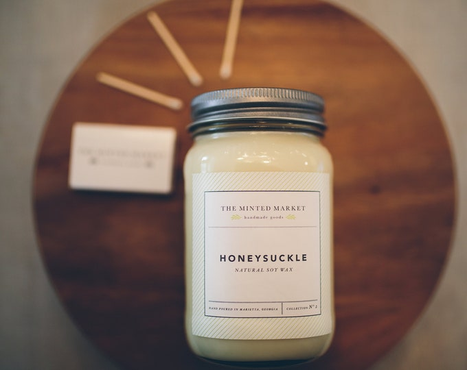 Honeysuckle Soy Candles