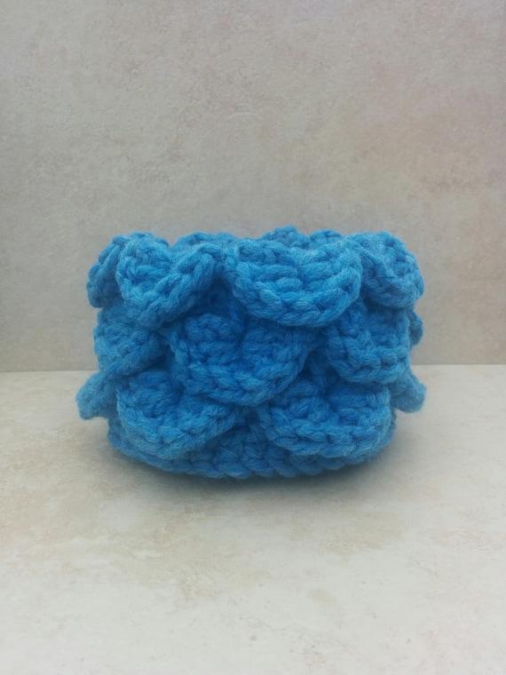 Crochet Basket. Mermaid Basket. Trinket Bowl. Plant Holder ...