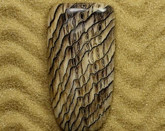 Hell's Canyon Herringbone Sequoia Large Tongue by Greta Schneider
