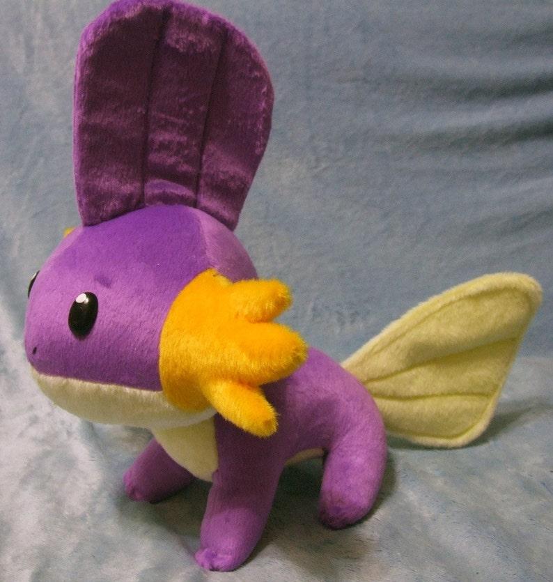 82b82b8c Pokemon inspired shiny Mudkip Hoenn starter 30 cm long plushie | Etsy