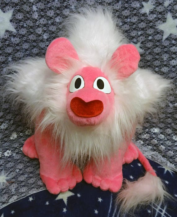 Steven Universe Inspired Lion Large Size Plushie Approx 50x55 Etsy