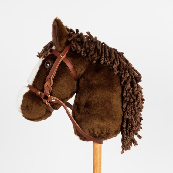 Grey Stick Pony Montana Toy Companys Snowy Mountain Ponies Hobby Horse Stick Horse
