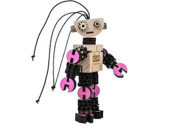 DAZI - Wooden Robot Kit (Color)